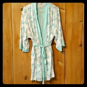 Nightgown and robe